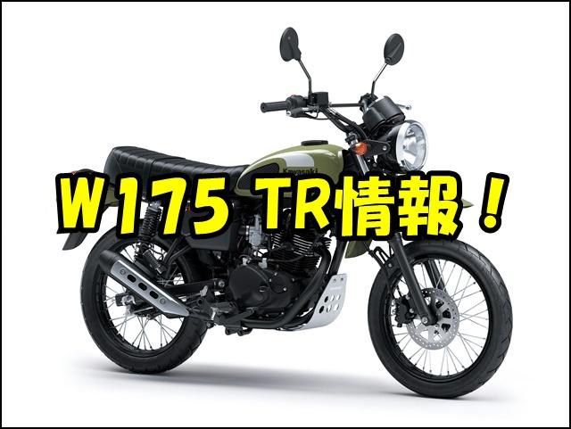 W175 TR【TRACKER】の発売日は?国内販売の有無や価格、スペックはどうなる?